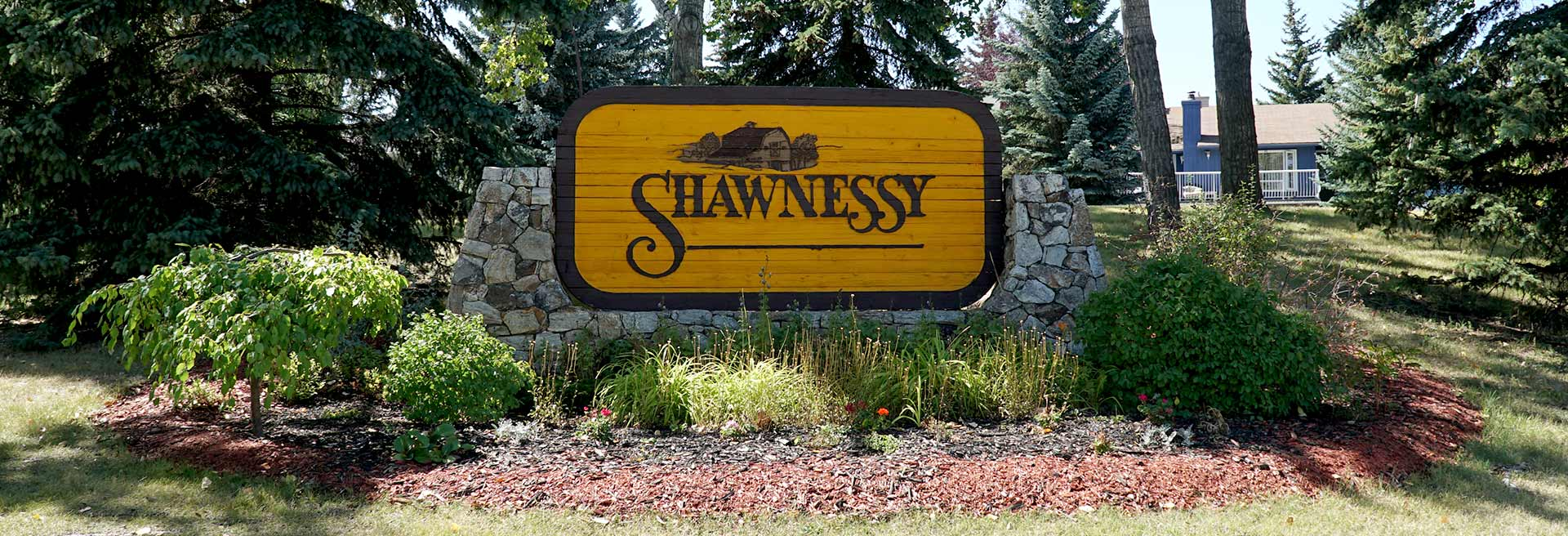 Shawnessy Smiles Dental | Shawnessy Neighborhood Sign